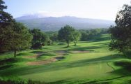 The Il Picciolo Golf Club's scenic golf course in faultless Sicily.