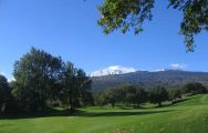 The Il Picciolo Golf Club's lovely golf course in pleasing Sicily.