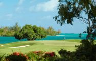 View Ile aux Cerfs Le Touessrok's picturesque golf course in astounding Mauritius.