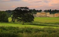 The Kedleston Park Golf Club's scenic golf course in sensational Derbyshire.