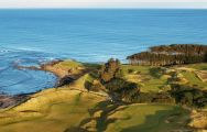 The Kingsbarns Golf Links's scenic golf course in sensational Scotland.
