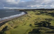 The Kingsbarns Golf Links's picturesque golf course in sensational Scotland.
