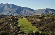 The La Cala Europa Course's lovely golf course situated in vibrant Costa Del Sol.