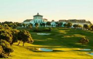 The La Reserva Golf Club's beautiful golf course within staggering Costa Del Sol.