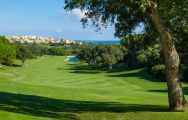 The La Reserva Golf Club's scenic golf course in vibrant Costa Del Sol.