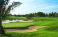 Laem Chabang International Country Club's beautiful golf course situated in vibrant Pattaya.