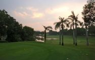 The Laem Chabang International Country Club's picturesque games room within stunning Pattaya.