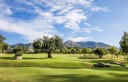 The Lauro Golf Club's scenic golf course in fantastic Costa Del Sol.