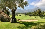 The Lauro Golf Club's beautiful golf course within amazing Costa Del Sol.