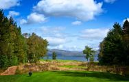 The Loch Lomond Golf Club's beautiful golf course within spectacular Scotland.