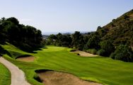 Los Arqueros Golf Course's impressive golf course situated in gorgeous Costa Del Sol.