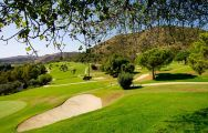 The Los Arqueros Golf Course's scenic golf course situated in marvelous Costa Del Sol.