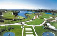 The Los Flamingos Golf Course's impressive golf course within sensational Costa Del Sol.
