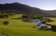 The Lost City Golf Course's impressive golf course situated in vibrant South Africa.