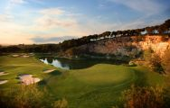 Lumine Lakes Golf Course's beautiful golf course situated in vibrant Costa Dorada.