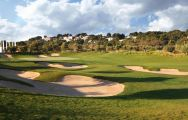 The Lumine Lakes Golf Course's lovely golf course situated in dazzling Costa Dorada.