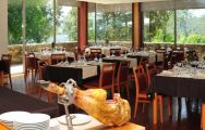 Axis Ponte De Lima Golf Resort's beautiful restaurant within spectacular Porto.