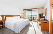 Hotel Palma Bellver's picturesque double bedroom within astounding Mallorca.