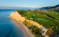 The Thracian Cliffs Golf Club's lovely golf course situated in brilliant Black Sea Coast.