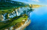 The Thracian Cliffs Golf Club's beautiful golf course in incredible Black Sea Coast.