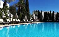 View Maria Nova Lounge Hotel's picturesque main pool within dazzling Algarve.