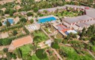All The Iberostar Club Palmeraie Marrakech's scenic ariel view in vibrant Morocco.