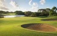 The Links  The Legend at Belle Mare Plage's picturesque golf course in incredible Mauritius.