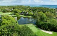 The Links  The Legend at Belle Mare Plage's impressive golf course in astounding Mauritius.