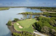The Links  The Legend at Belle Mare Plage's scenic golf course in sensational Mauritius.