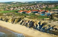 The Praia D'el Rey Marriott Golf  Beach Resort's scenic beach situated in gorgeous Lisbon.