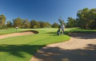 The Penina Resort Course's impressive golf course situated in astounding Algarve.