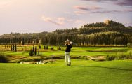 The Golf Club Castelfalfi's scenic golf course within sensational Tuscany.