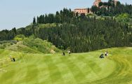 The Golf Club Castelfalfi's scenic golf course within magnificent Tuscany.