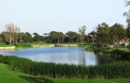 The Antalya Golf Club Sultan Course's lovely golf course within impressive Belek.