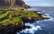 The Buenavista Golf Course's beautiful golf course situated in sensational Tenerife.