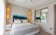 Anahita Golf  Spa Resort's lovely double bedroom in magnificent Mauritius.
