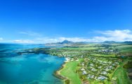 The Anahita Golf  Spa Resort's picturesque sea view situated in incredible Mauritius.