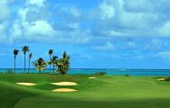 The Anahita Golf  Spa Resort's lovely Championship Golf Course in pleasing Mauritius.