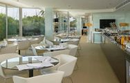 The Melia Palma Marina's lovely buffet restaurant in sensational Mallorca.