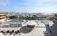 View Melia Palma Marina's beautiful hotel within fantastic Mallorca.