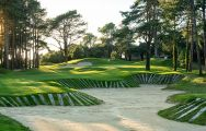 The Hardelot Les Dunes's scenic golf course situated in marvelous Northern France.