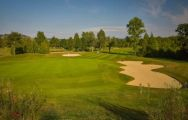 The Golf du Chateau de Chailly's picturesque golf course in pleasing Paris.