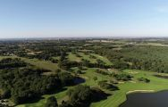 The Golf International Barriere La Baule's lovely golf course in dramatic South of France.