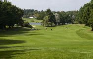 The Golf International Barriere La Baule's lovely golf course within brilliant South of France.
