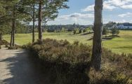The Grantown-on-Spey Golf Club's picturesque golf course in stunning Scotland.