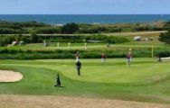 All The Golf Blue Green de Ploemeur Ocean's picturesque golf course in sensational Brittany.