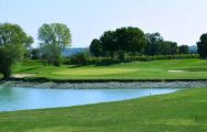 The Rimini – Verucchio Golf Club's picturesque golf course in dazzling Northern Italy.