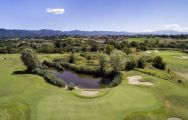 The Poggio dei Medici Golf Club's beautiful golf course within dazzling Tuscany.