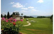 The Poggio dei Medici Golf Club's impressive golf course within impressive Tuscany.