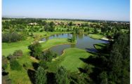 The Modena Golf & Country Club's scenic golf course in sensational Northern Italy.